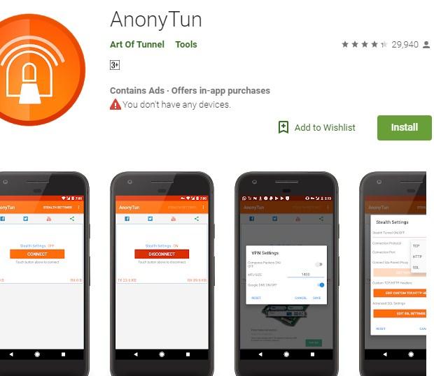Cara Setting Anonytun Kuota Midnight Telkomsel Agar 24 Jam 2019: LANGKAH PERTAMA