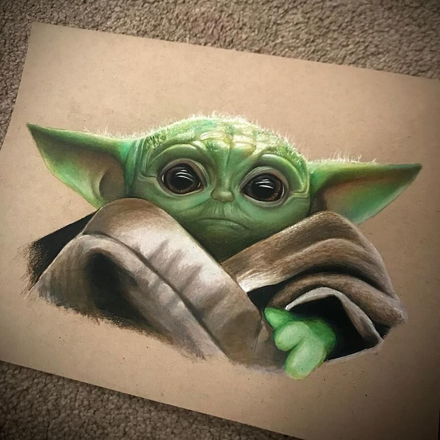 04-Baby-Yoda-The-Mandalorian-Chris-Pencil-Drawings-www-designstack-co
