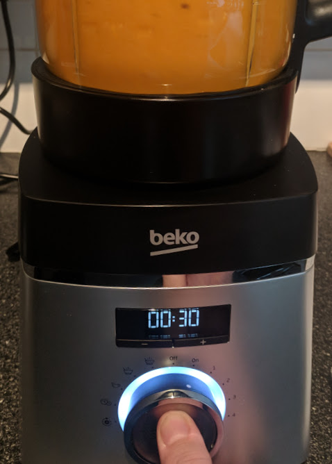Beko Soup Maker | A Review - blend function