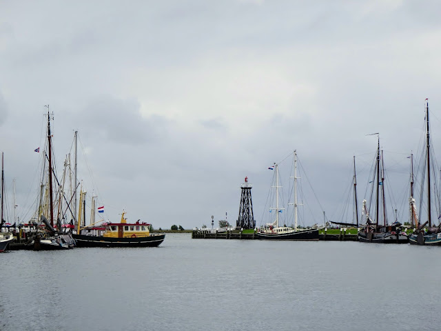 Interesting places to visit in the Netherlands: harbor at Enkhuizen