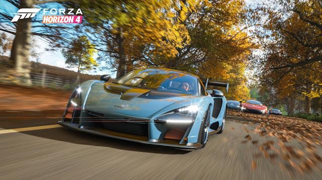 الإعلان عن لعبة Forza Horizon 4 و تحديد تاريخ إطلاقها النهائي …