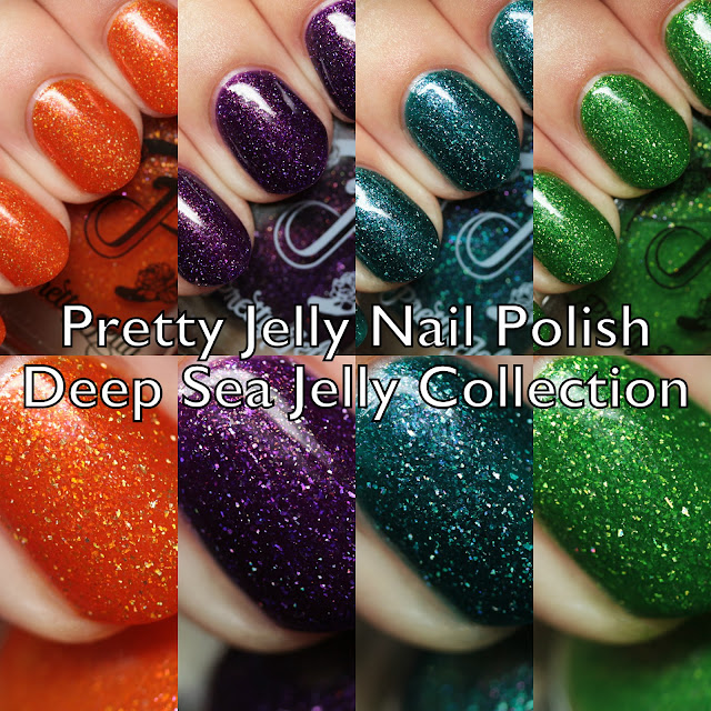 Pretty Jelly Nail Polish Deep Sea Jelly Collection