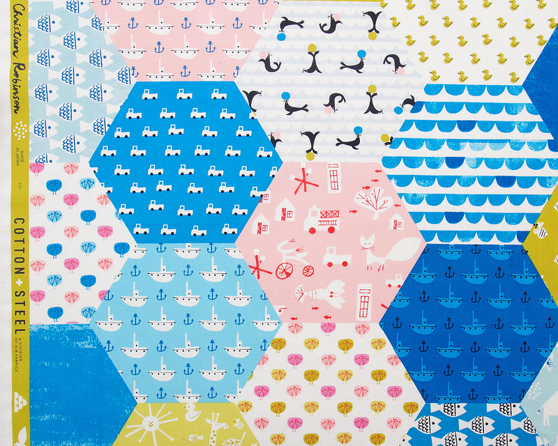 Spectacle by Christian Robinson for Cotton + Steel | © Red Pepper Quilts 2018