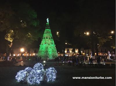 Arbol de Navidad en Pátzcuaro