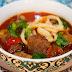 Шурпа-Лагман домашний классический рецепт супа-лапши из говядины в кастрюле