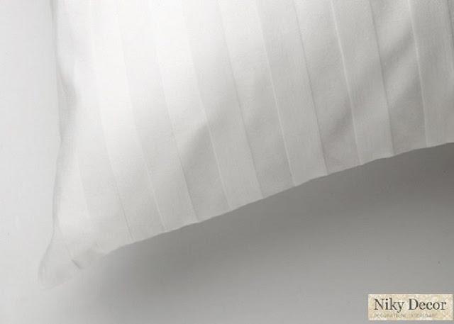 Lenjerii hoteliere - Lenjerie de pat din damasc satinat