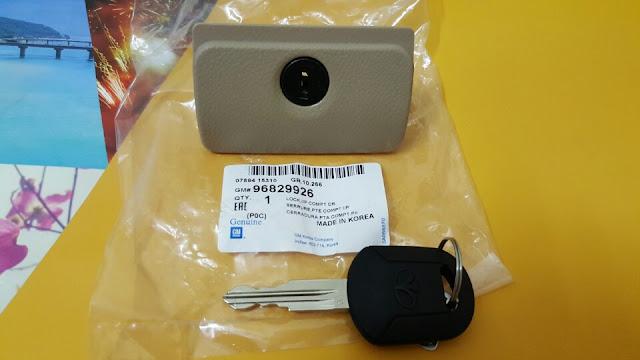 Chìa và ổ khóa cốp phụ xe Captiva chính hãng GM