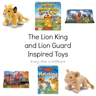 The Lion King and Lion Guard Inspired Toys