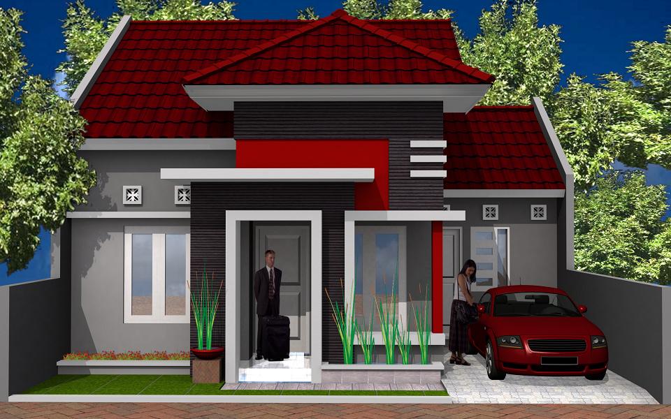 Desain Model Rumah Minimalis Tipe 54