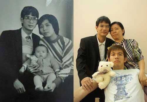 foto unik keluarga yang tidak berubah momennya setelah puluhan tahun-6