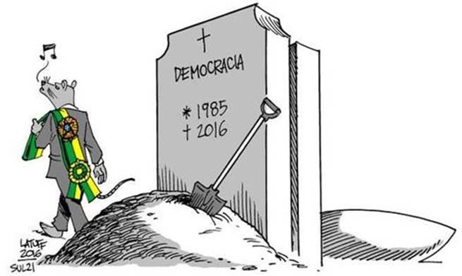 Resultado de imagem para Morte da democracia