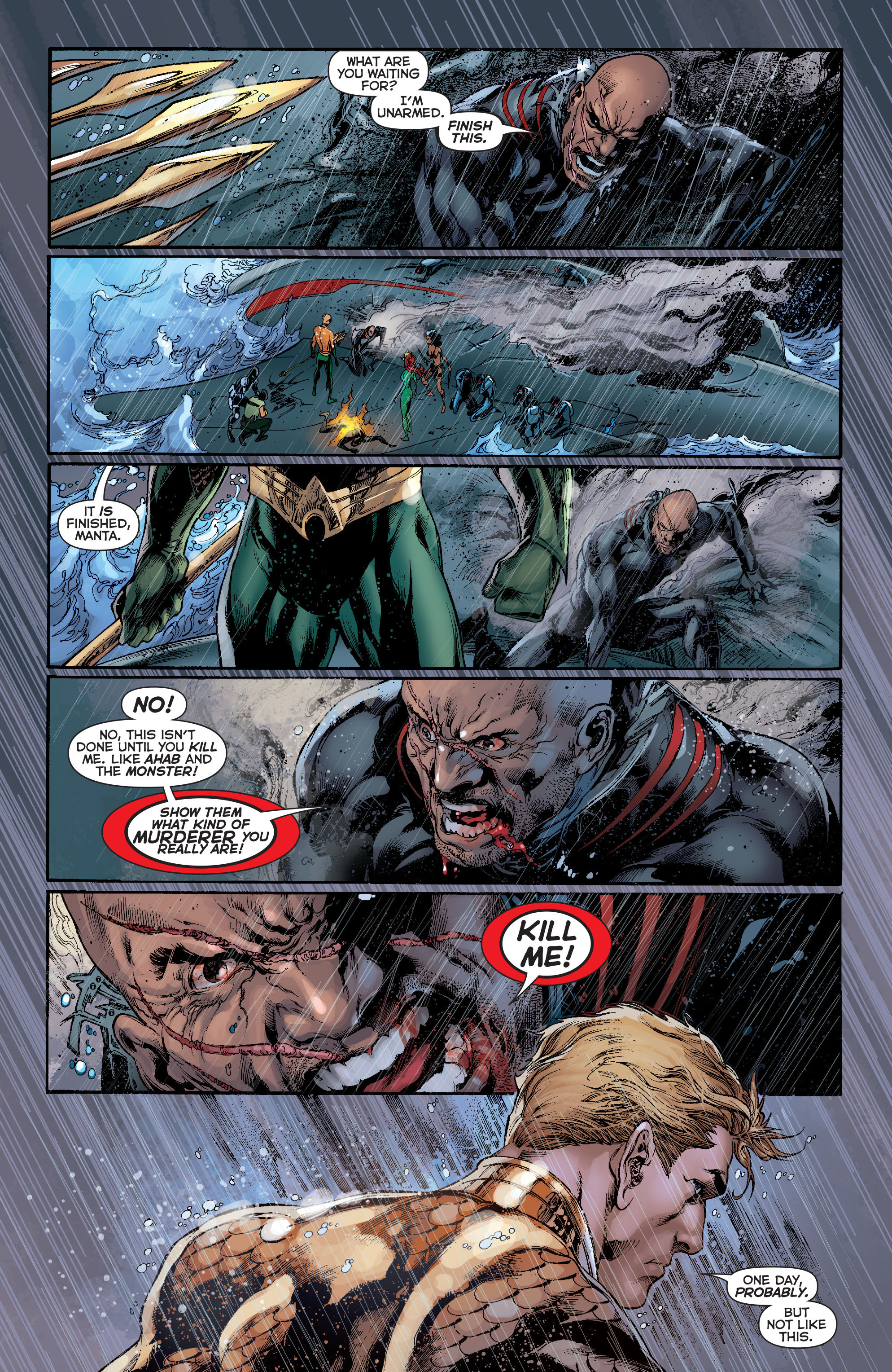 Read online Aquaman (2011) comic -  Issue #13 - 17