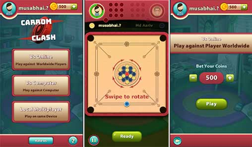 Download Carrom Clash MOD APK cho Android