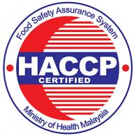 logo sticker HACCP pada beberapa makanan dari Malaysia