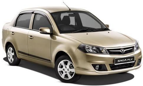 Sewa Kereta Proton Saga (Auto)