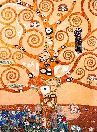 Árvore da Vida - Gustav Klimt e suas pinturas ~ Pintor simbolista austríaco