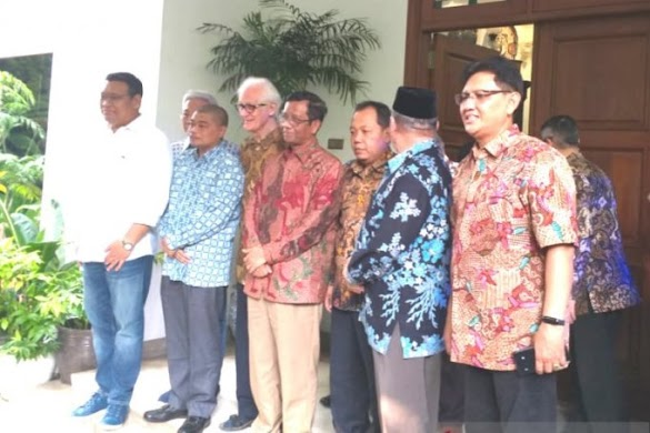 Mahfud MD Berkunjung ke Rumah Megawati, Apa yang Dibahas?