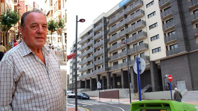 Carlos Ibáñez y la calle que recibirá su nombre en Lutxana