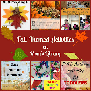 Fall Themed Activities from Mom's Library