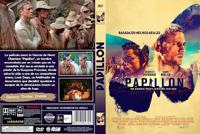 CARATULA PAPILLON [TITULO ORIGINAL]