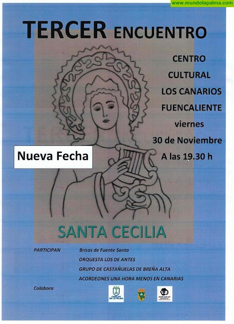 Nueva fecha para el Encuentro de Santa Cecilia en Fuencaliente