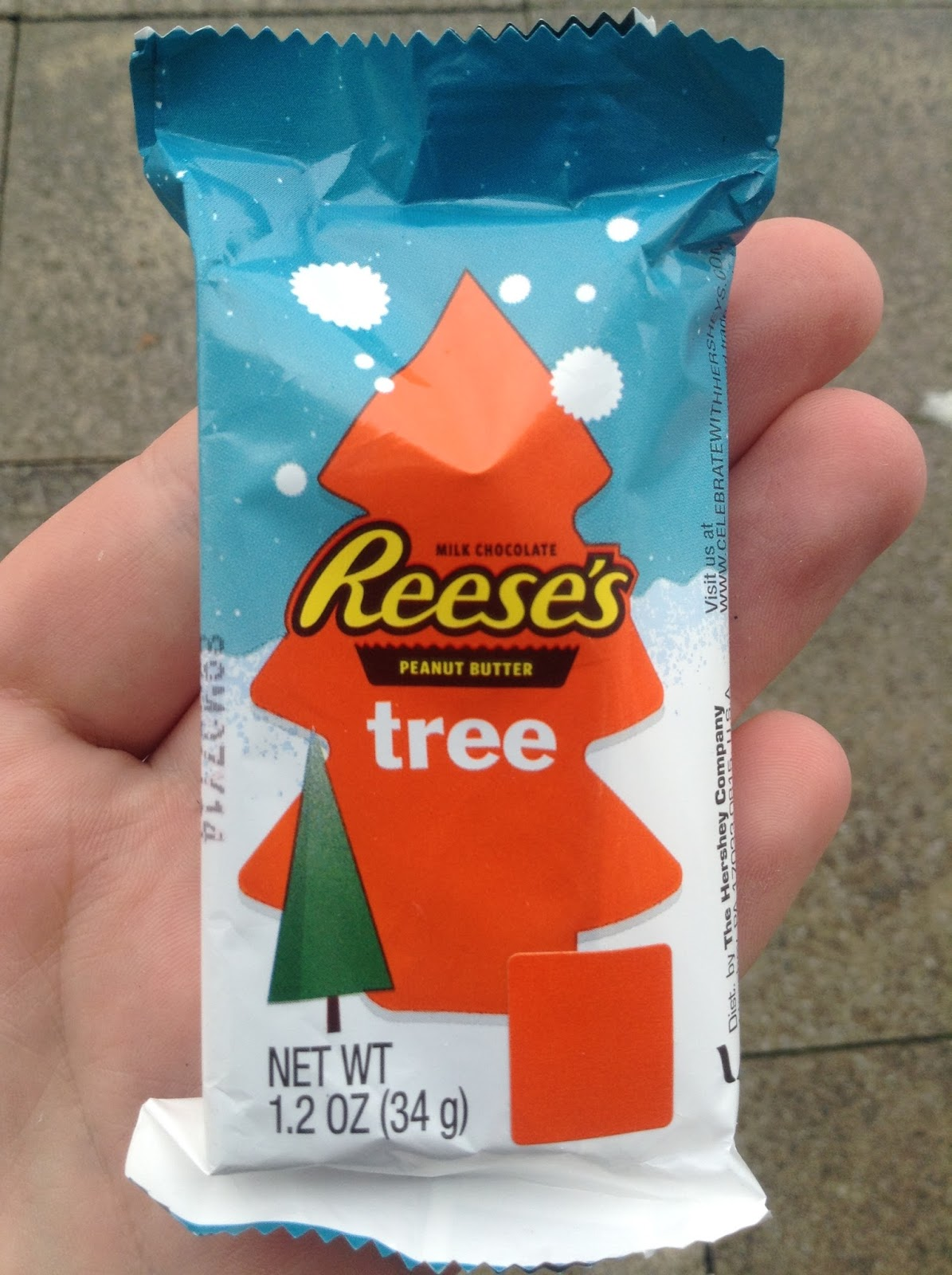 reeses peanut butter christmas tree