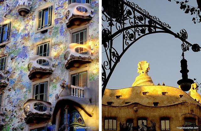 Obras de Gaudí, Barcelona, Espanha