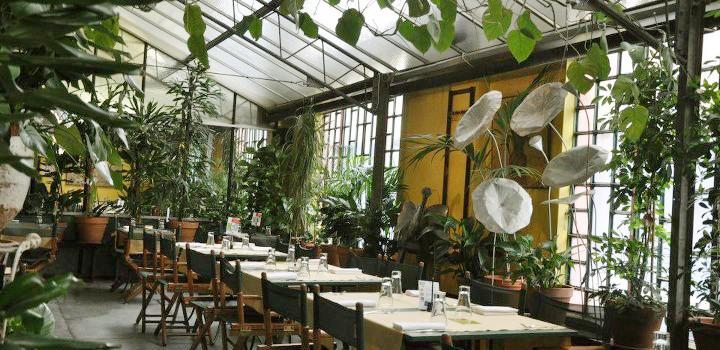 Cibo fiori shabby chic interiors for Ristorante l isolotto milano