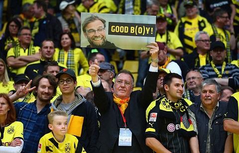 Đội Dortmund đã chia tay HLV Klopp bằng một trận thua
