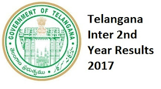 Telangana Inter 2nd Year Results 2017