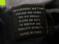 """China: Lederrucksack aus Segeltuch Herren/Damen Rucksäcke Rucksack für den täglichen Freizeitgebrauch 13.3""""(L)*19.6""""(H)*7""""(B)"""