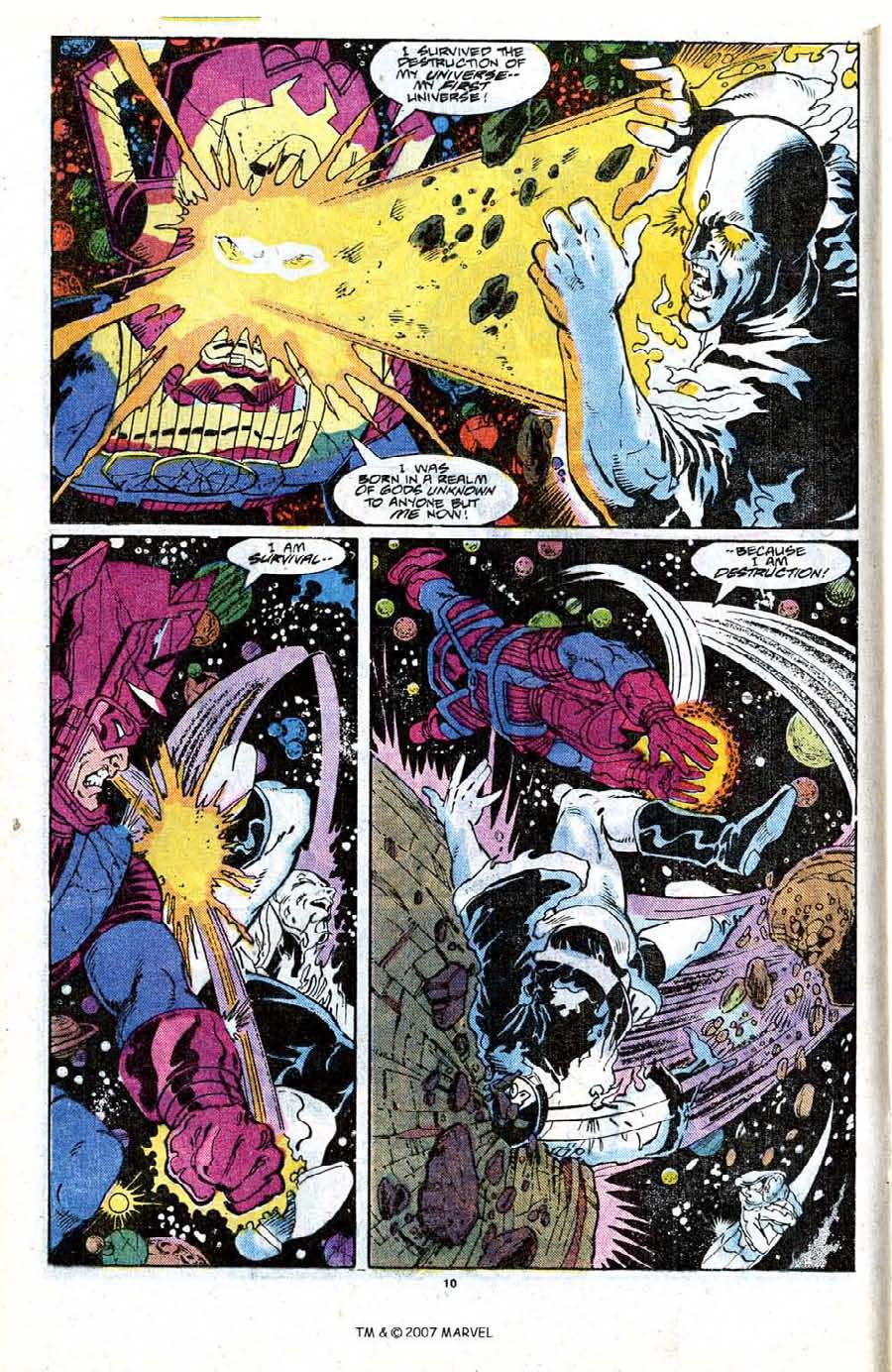 Read online Silver Surfer (1987) comic -  Issue #18 - 12