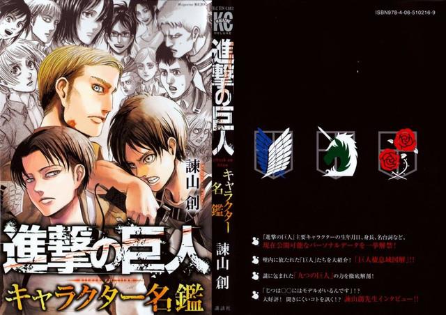 Autor de Shingeki no Kyojin revela a origem do nome de alguns personagens