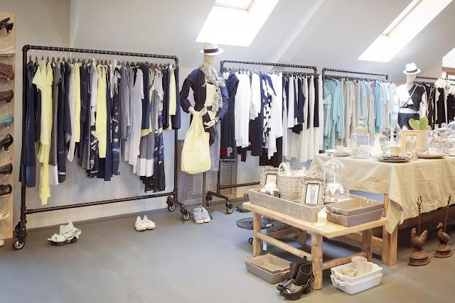 thiết kế shop thời trang nữ đẹp - mẫu số 6