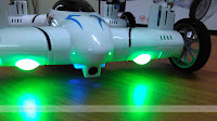 SongYang X25-1 Flying Quadcopter Car Led