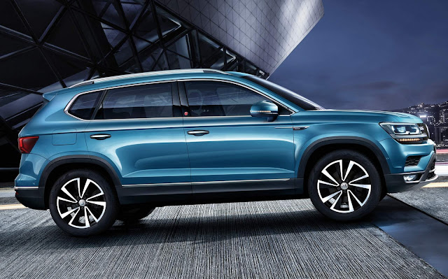 Novo Volkswagen Tarek 2020 - SUV concorrente do Jeep Compass