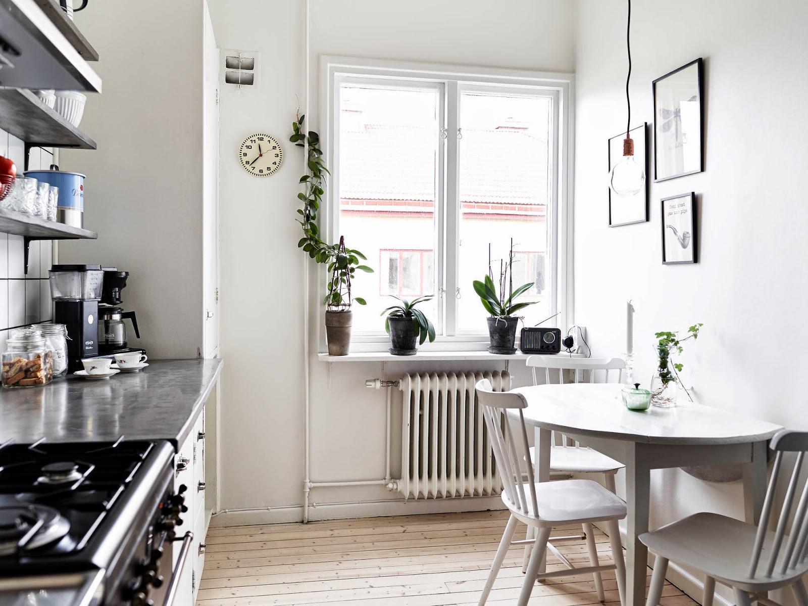 Cozinha simples com azulejo branco Decoração e Ideias casa e  #475E29 1600 1199
