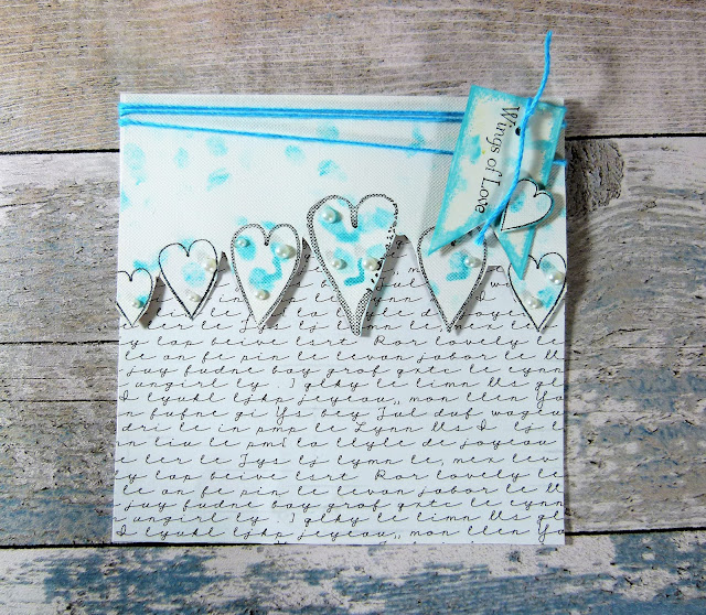 How To Create Romantic Wedding Cards Using Hearty Doodles