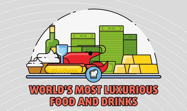 The World's Most Luxurious Food and Drink