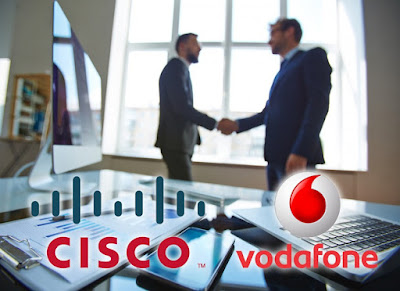 Vodafone i Cisco s'uneixen per impulsar les comunicacions corporatives