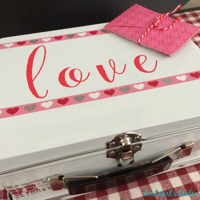 Make a Valentine's Date Night Box that contains ideas of fun things to do together each month!