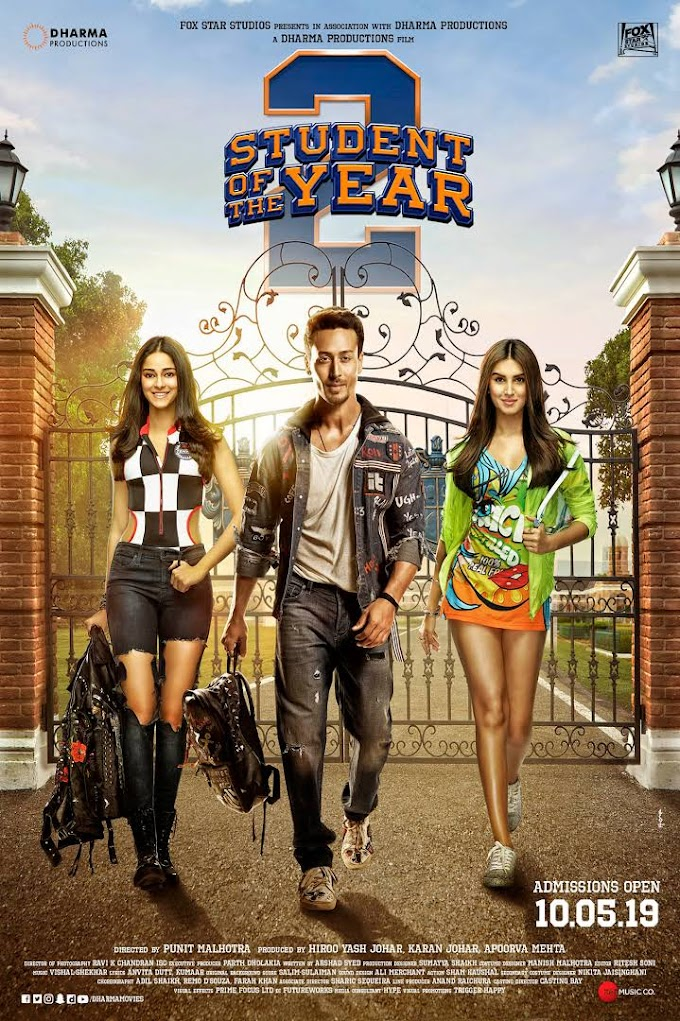 Student Of The Year 2 Full Movie 720p Download in HD Quality