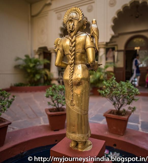 Shri Meenakshi at Shiva Vilas Palace Hotel