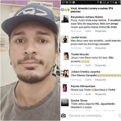 Luto: Matoense morre com tiro no peito após tentativa de assalto em Teresina-PI