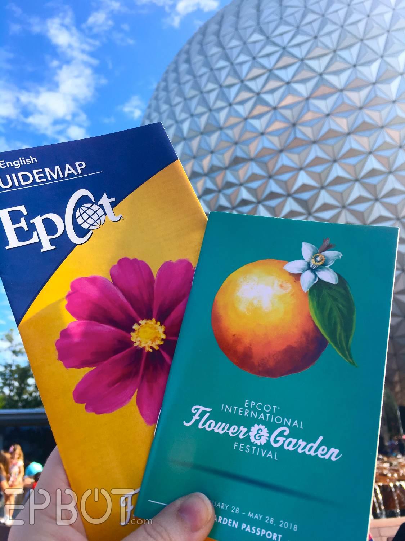 epbot: epcot flower & garden 2018: new merch, pretties, & food