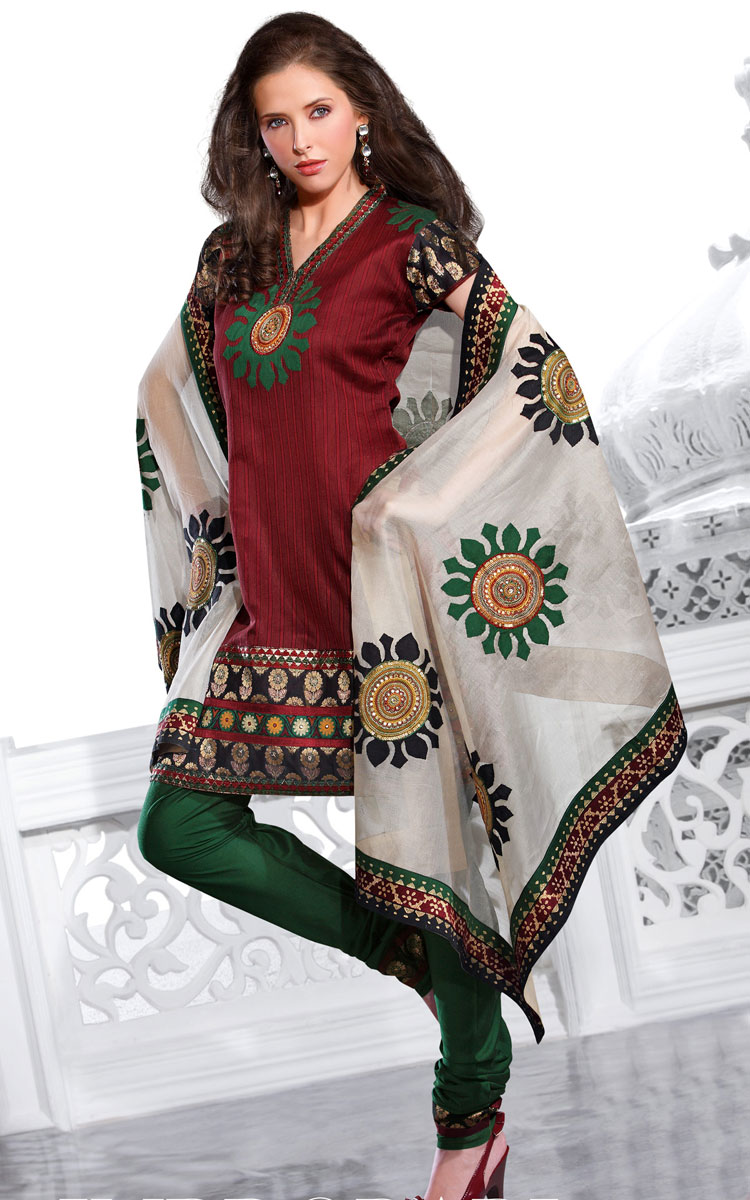 Latest Design Of Assam Type House: Embroidery : Latest Embroidery Suits Designs., Salwar