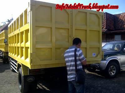 Gambar bak mitsubishi dump truk canter