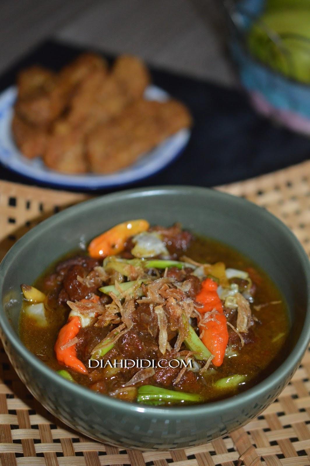 Tengkleng Sapi : tengkleng, Didi's, Kitchen:, Tongseng, Tanpa, Santan