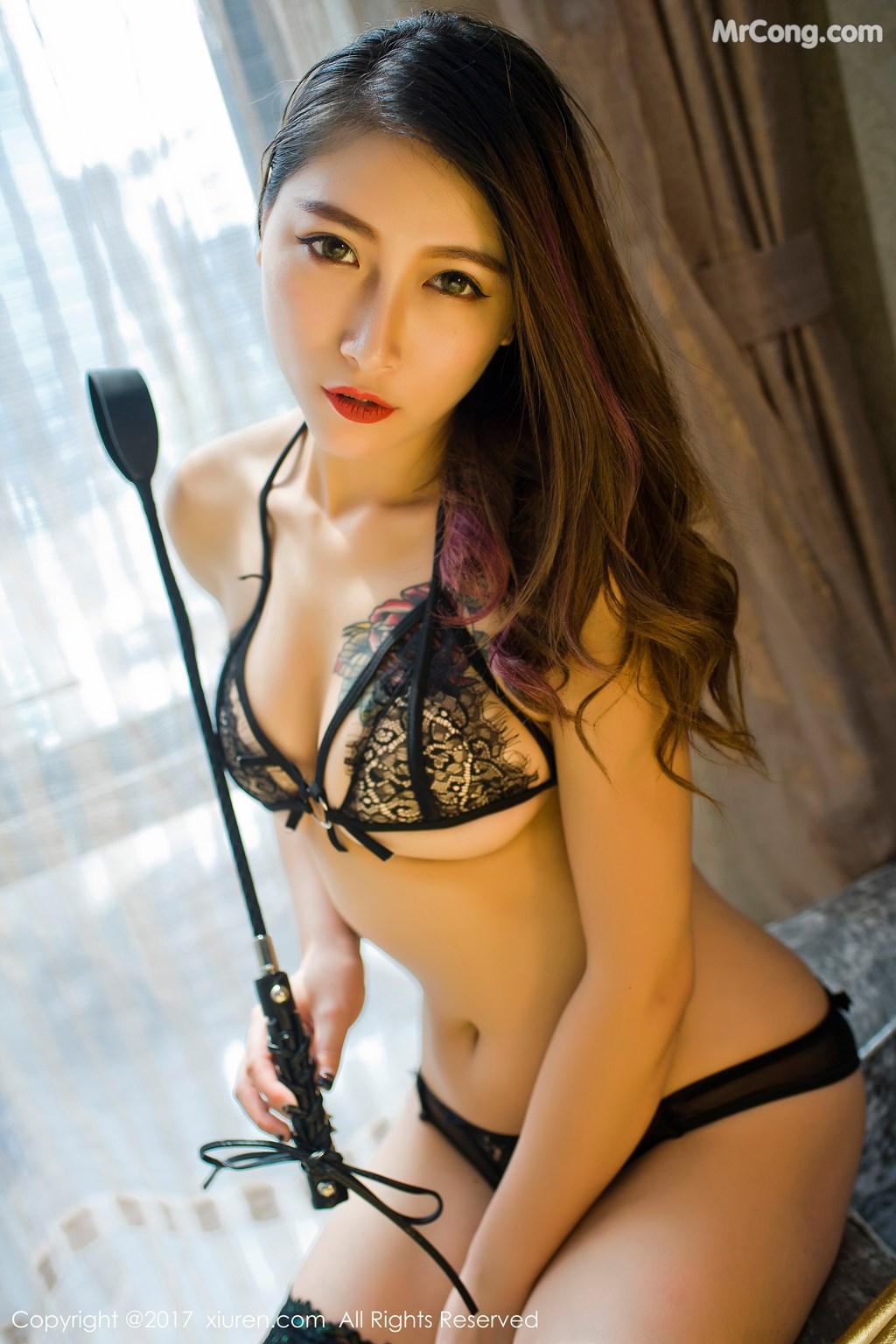 Image XIUREN-No.812-Du-Hua-Hua-MrCong.com-042 in post XIUREN No.812: Người mẫu Du Hua Hua (杜花花) (48 ảnh)