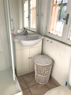Mi casa: Antes y después del baño de los más chiquitos.
